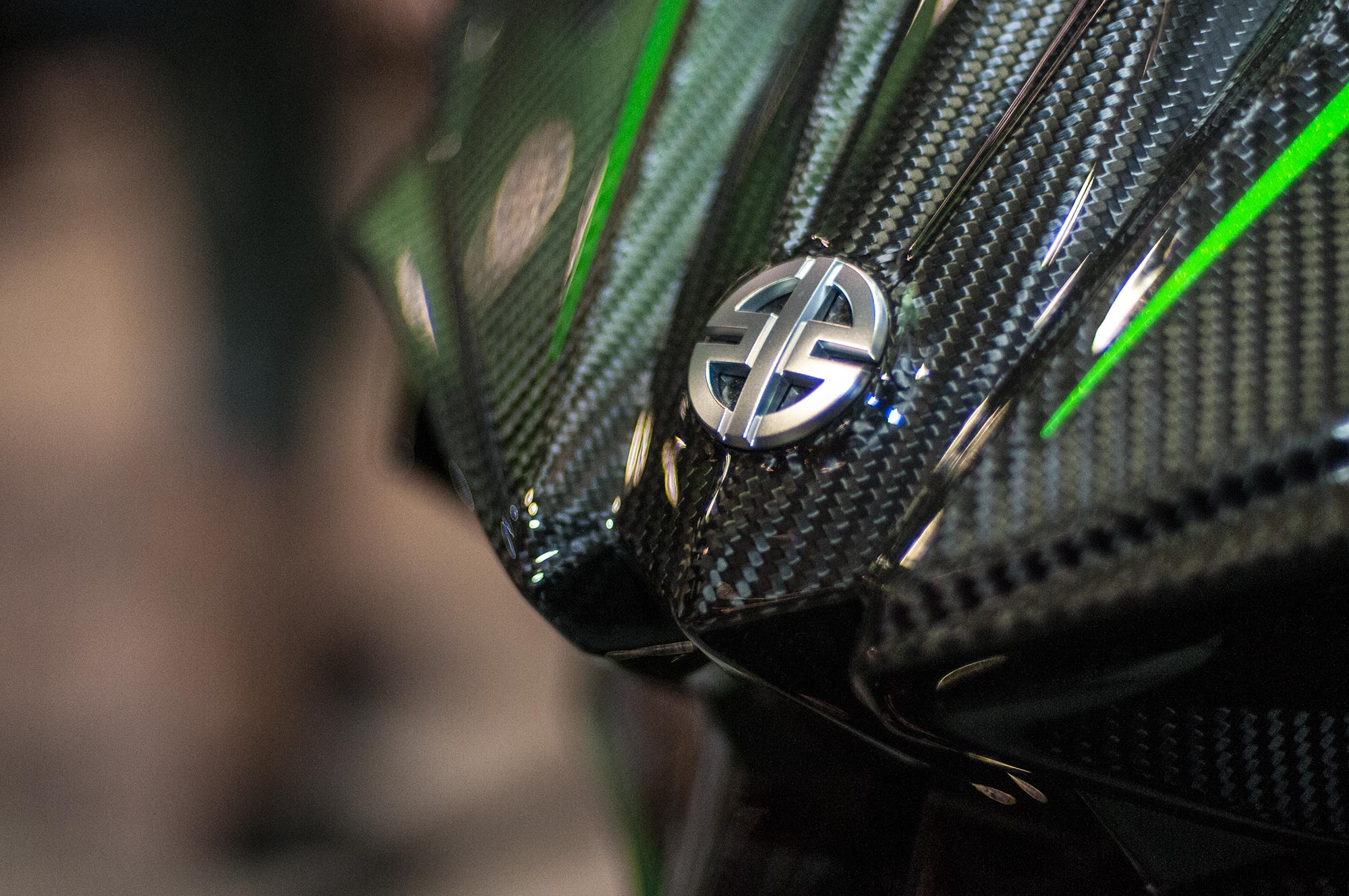 Up Close With The Kawasaki Ninja H2r Asphalt Rubber