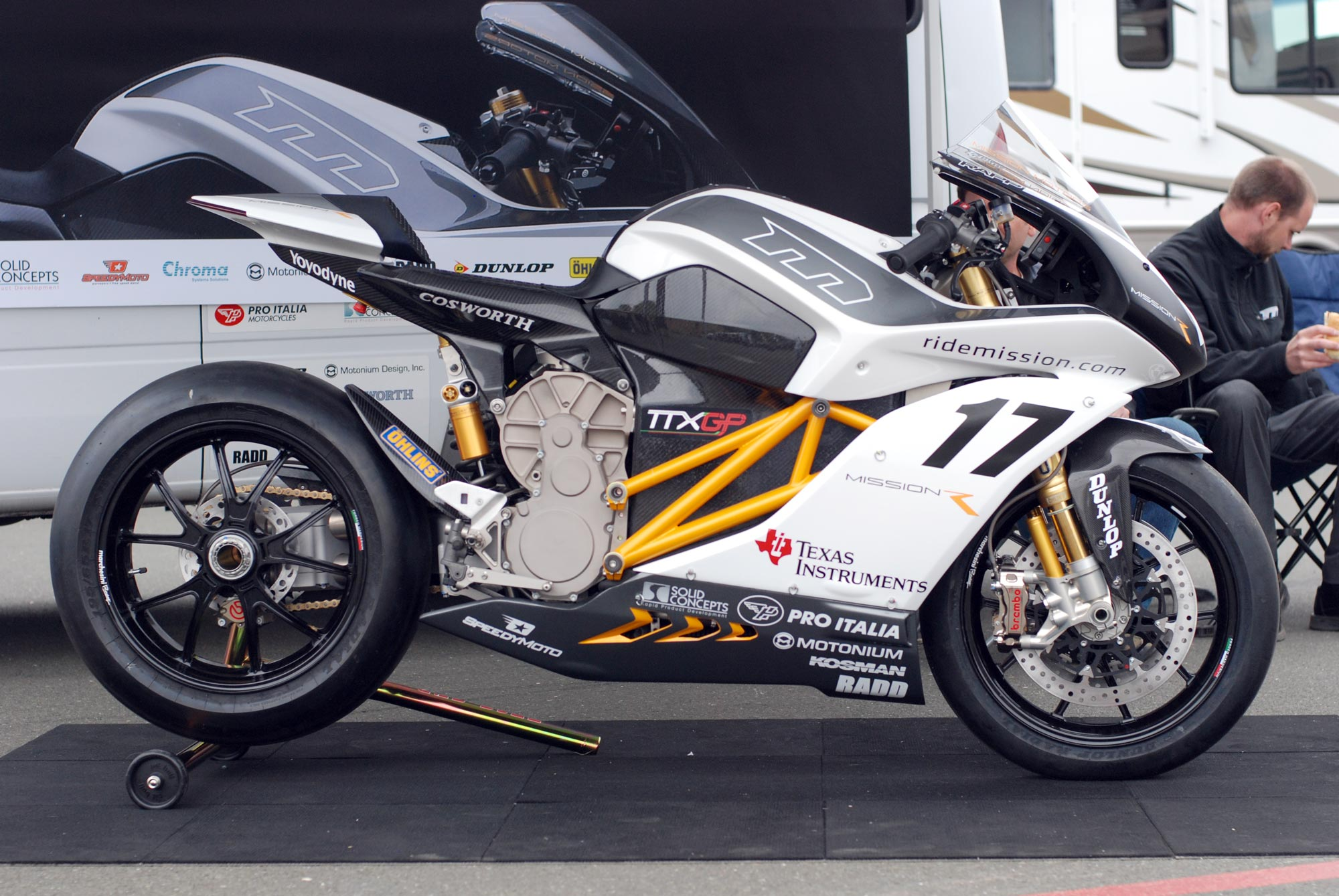 Up Close With The Mission R At Infineon Raceway Asphalt