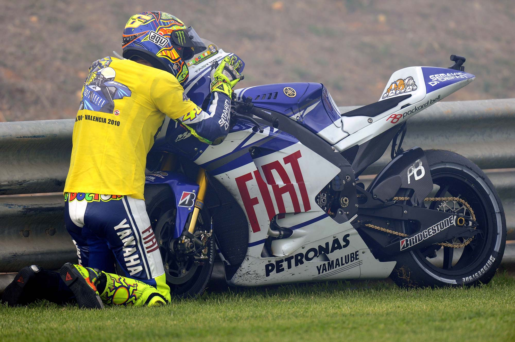 Valentino Rossi Turns 32 Years Old Today - Asphalt & Rubber