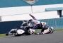 Photo: Five   Two = Podium thumbs leon haslam marco melandri wsbk crash donington park