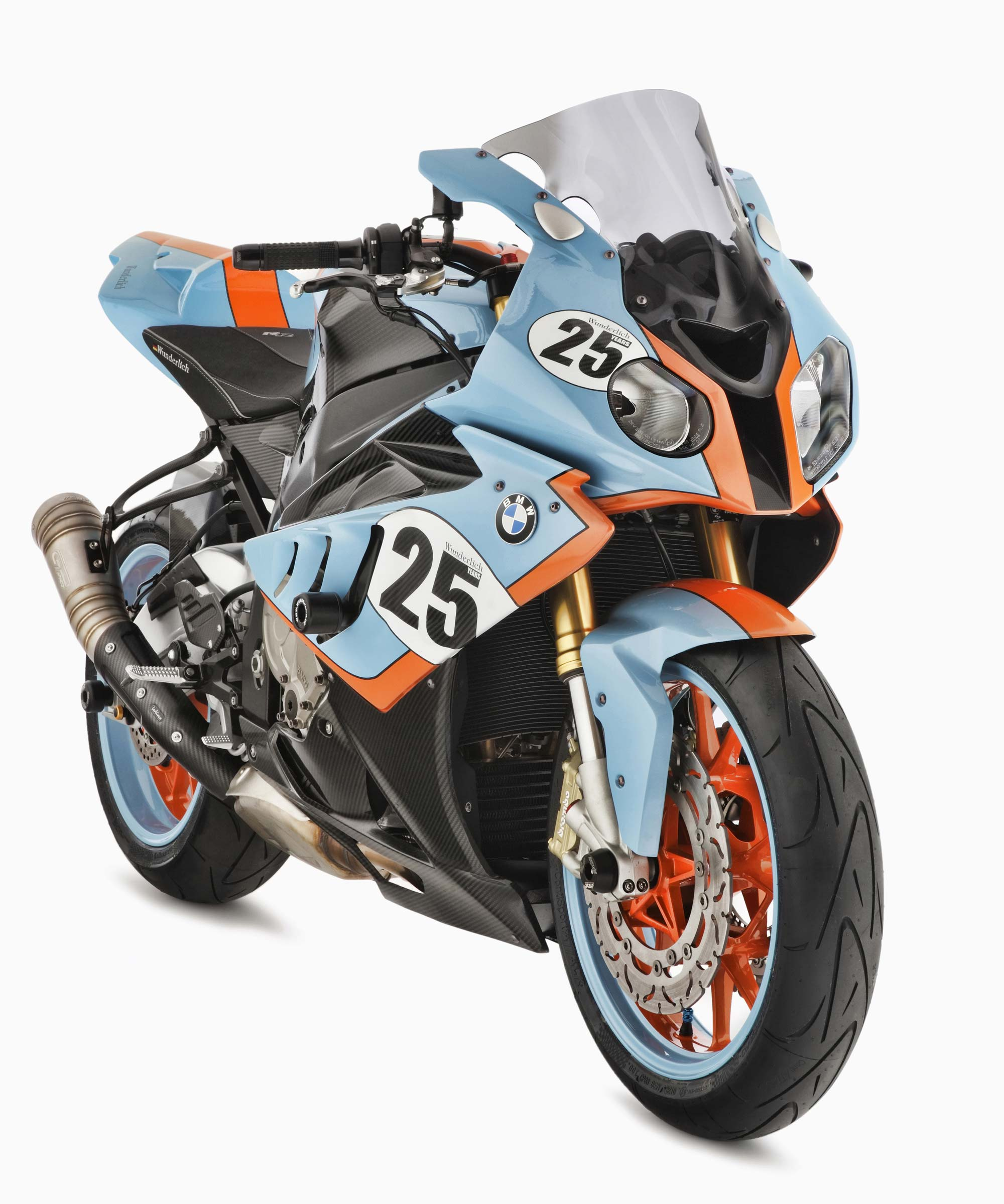 Wunderlich Curar 234 The Gulf Oil Bmw S1000rr Asphalt