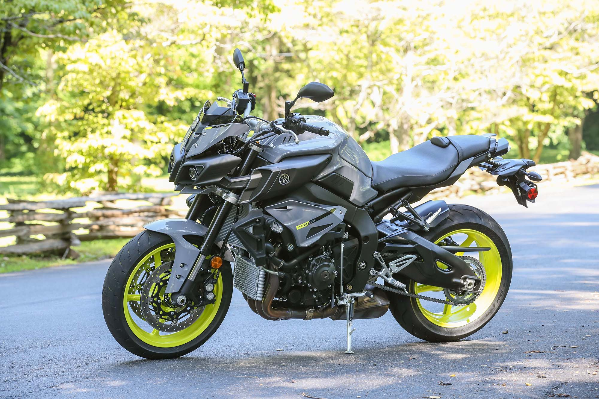 The 2017 Yamaha FZ-10 Tourer - Only For Europe, But…