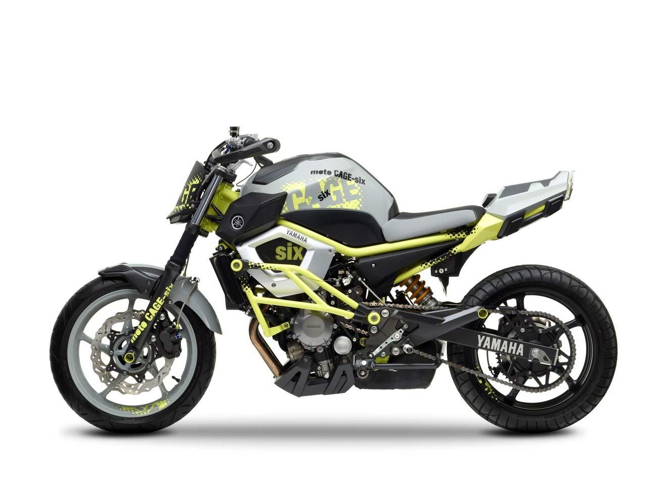 Yamaha Moto Cage Six Concept Asphalt Amp Rubber