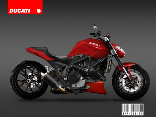 Ducati Vyper Cruiser in 2010? Ducati Vyper concept Luca bar red 635x476