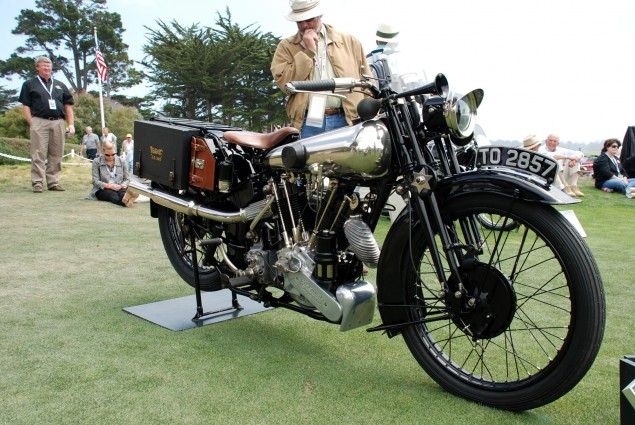 Pebble Beach Concours d'Elegance: 1926 Brough Superior SS100 Alpine Grand Sport 1926 Brough Superior SS100 Alpine Grand Sport 1 635x425