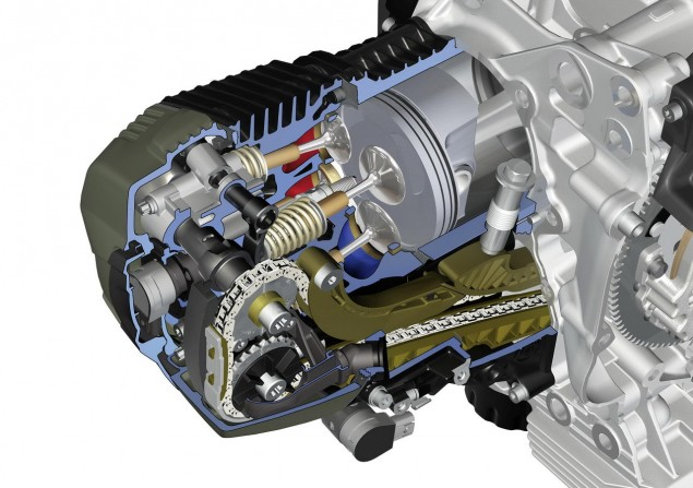 BMW R Series Gets Revised Motor with DOHC 2010 BMW Boxer R series motor 635x447