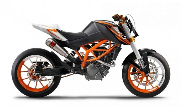 KTM 125 Race Concept & KTM 125 Stunt Concept Targets Young Hooligans for the KTM Brand KTM 125 Race Concept 635x377