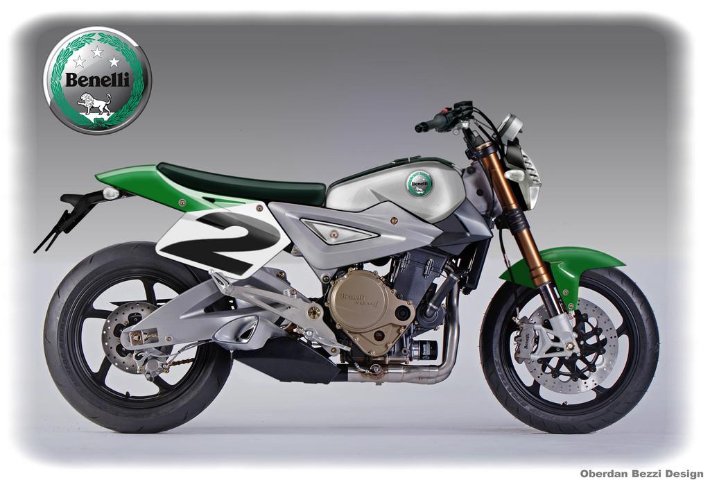 Yamaha MT-09 Triple Cross Over Concept by Oberdan Bezzi