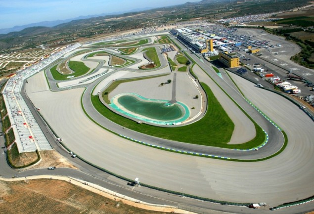MotoGP and WSBK Battle Over Valencia Exclusivity Valencia race track aerial 635x433