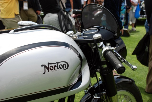 Norton Returning to MotoGP Racing Manx Norton Featherbed 40M 635x425