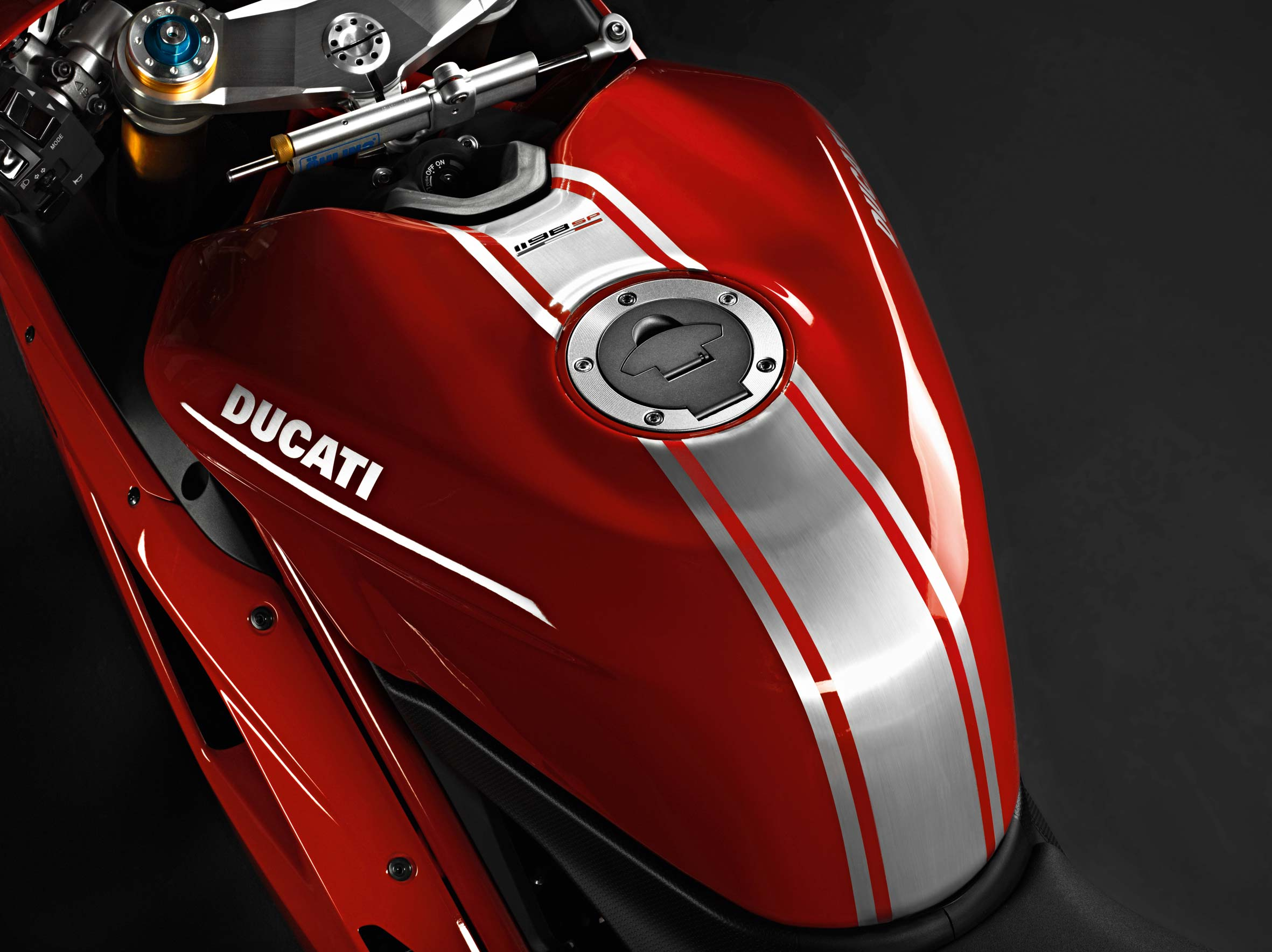 Ducati Monster S Gas Tank