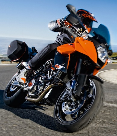 2011 KTM 990 Supermoto T Gets ABS 2011 KTM 990 SMT action 11