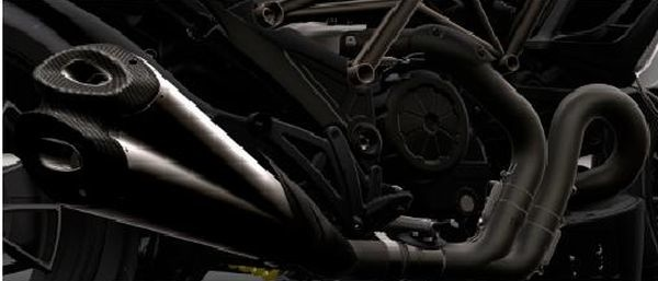 Ducati Diavel Pricing   $16,995 Base & $19,995 Carbon Ducati Diavel Termignoni exhaust render