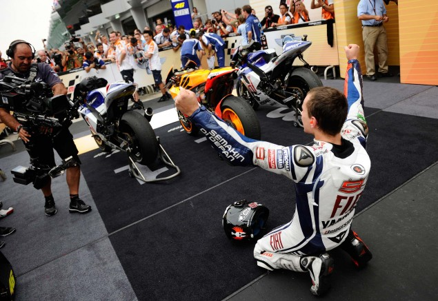 Clinched. Jorge Lorenzo MotoGP World Champion1 635x437