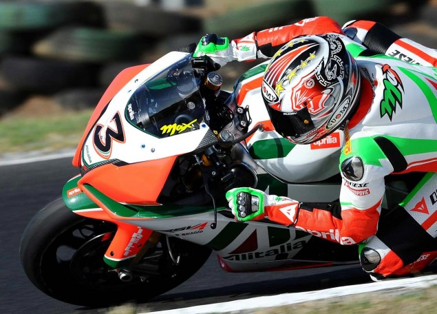 Biaggi Contract Announcement Fails to Materialize in Noale max biaggi wsbk world championship 635x456