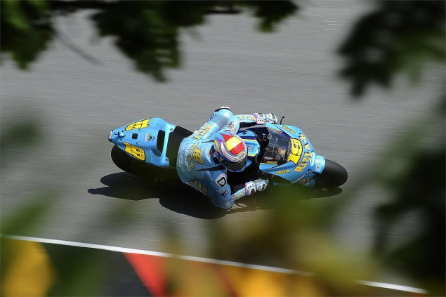 Suzuki Confirms Single Rider Team for 2011 Alvaro Bautista single bike team Suzuki MotoGP 635x423