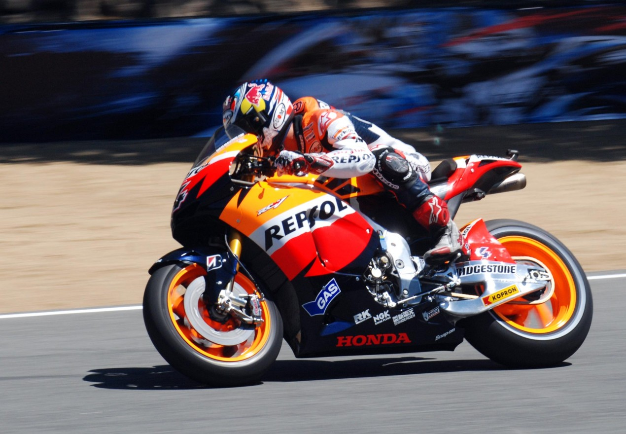 Honda Confirms Three Rider Team and Repsol Sponsorship Andrea Dovizioso MotoGP Laguna Seca 635x440