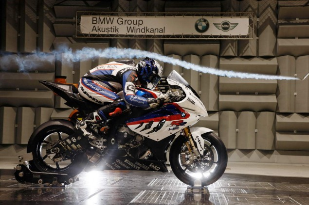 Photos: BMW S1000RR WSBK Hits the Wind Tunnel BMW WSBK S1000RR wind tunnel 11 635x423
