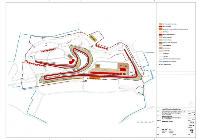 Donington Park Returns to the 2011 WSBK Calendar Donington Park track map 635x448