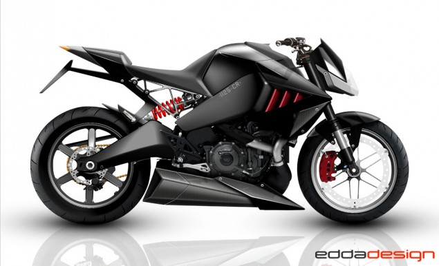 The Buell 1125CR That Never Was... Edda Design Buell 1125CR concept 2 635x386