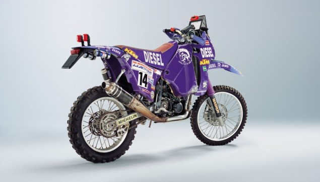20 KTMs of Yore for You to Drool Over 1995 KTM 620 Rally Heinz Kinigadner 635x362