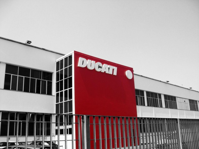 Strategic Meeting for Ducati Corse This Week Ducati Factory Bologna black white red 635x476