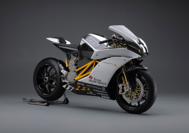 Mission R Electric Superbike Breaks Cover Mission R electric motorcycle Mission Motors 635x447