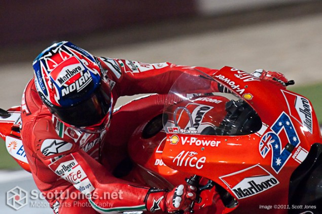 Photo of the Week: It's Called Marlboro Ducati for a Reason 2009 Casey Stoner Qatar Marlboro Ducati 635x422