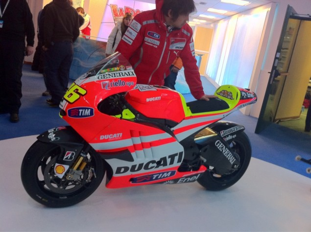 First Glimpse of the Ducati Desmosedici GP11 First Glimpse Ducati Desmosedici GP11 635x474
