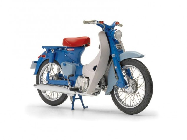 Honda Sales Up 19% Globally for 2010   Sells 80% in Asia Honda Super Cub 635x476