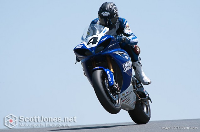 Photo of the Week: In Wheelies We Trust Johs Hayes power wheelie AMA Infineon May 2010 635x422