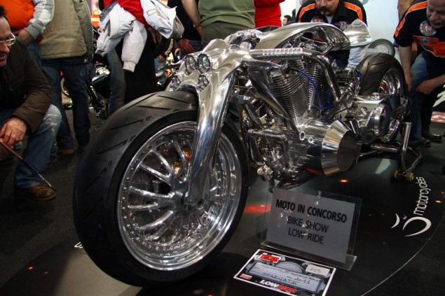 Best in Show at Verona: Stargate by Garage 65 Stargate Garage 65 Verona Motor Bike Expo 4 635x423