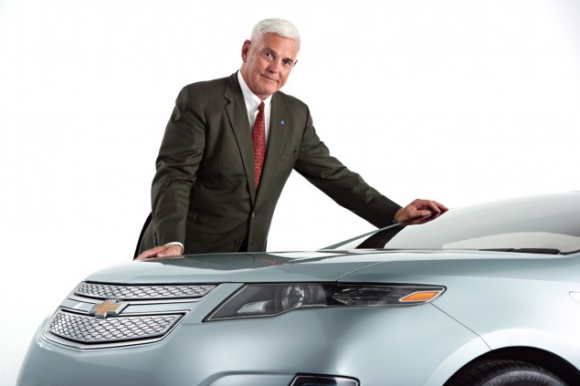 Former Vice Chairman of GM Bob Lutz Drops $1.5 Million Investment into Electric Scooters bob lutz chevy volt 635x423