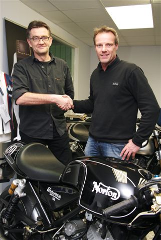 Pierre Terblanche Leaves Piaggio for Norton terblanch garner 03