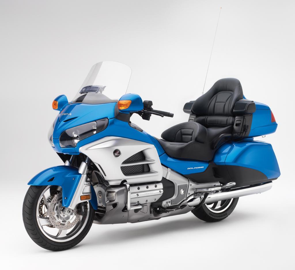 2012 Honda Goldwing Gets Minor Tweaks - Asphalt & Rubber