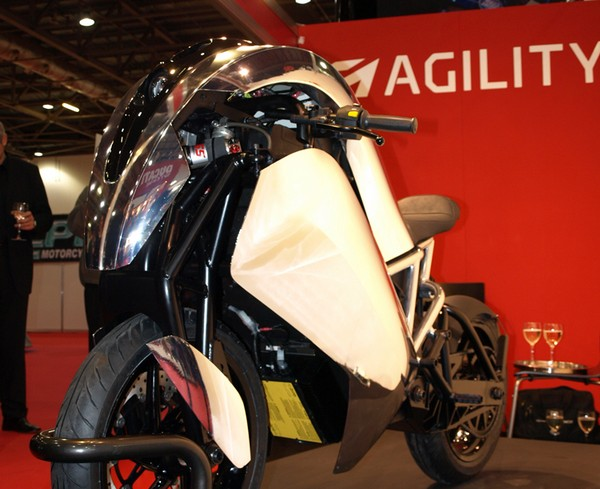 Agility Saietta Electric Motorcycle Unveiled Agility Saiette electric motorcycle