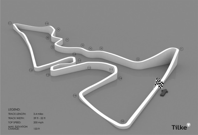 Austin GP: Yes, No, Maybe So... Austin GP track elevation 635x433