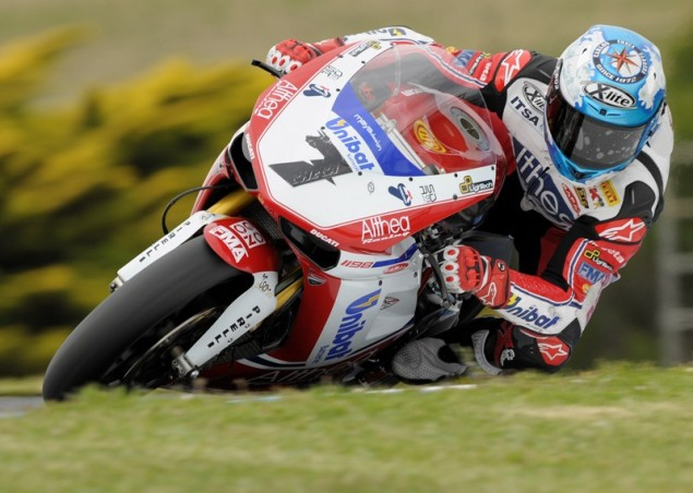 WSBK: Checa Edges Biaggi for Superpole at Phillip Island Carlos Checa Superpole WSBK Phillip Island 635x452