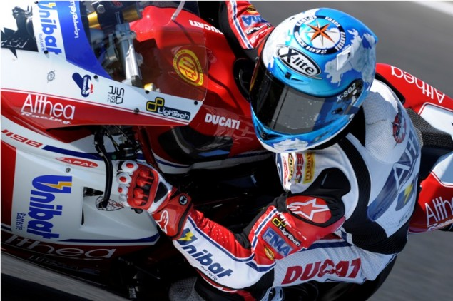 WSBK: One Man Show for Race 1 at Phillip Island Carlos Checa WSBK Race 1 Phillip Island 635x422