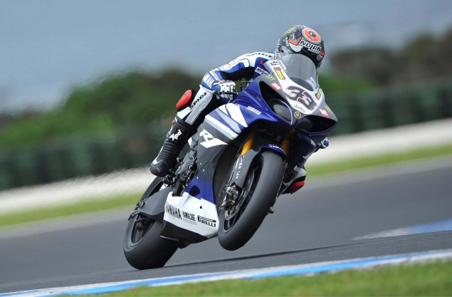 WSBK: Vets & Rookies Mix It Up for Race 2 at Phillip Island Marco Melandri Race 2 Phillip Island 635x417