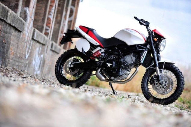 For Sale: One Italian Motorcycle Company   Slightly Used Moto Morini Scrambler 1200 635x423