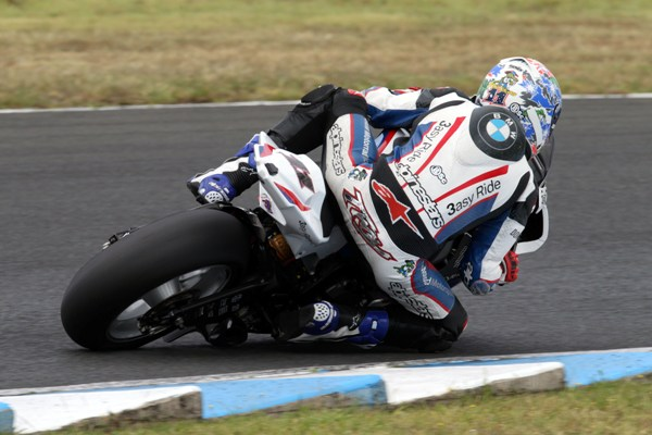 Corser Sits Out Testing After Crash at Phillip Island Troy Corser Eastern Creek