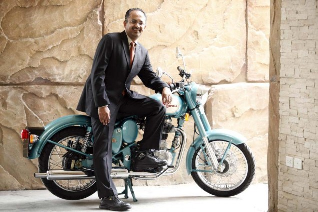 Royal Enfield Appoints New CEO Venki Padmanabhan CEO Royal Enfield Motors 635x423