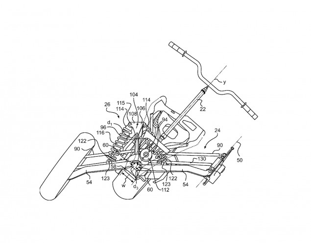 Can Am Files for Leaning Spyder Patent can am spyder leaning patent application 635x496