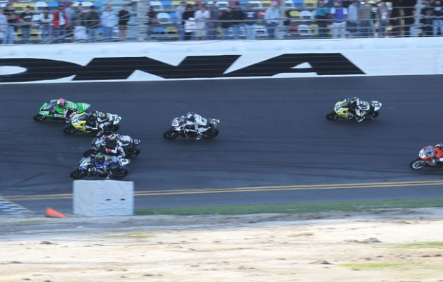 AMA Pro Racing Hands Josh Herrin One Event Suspension for Dangerous Conduct at the Daytona 200 Herrin 13 12 48 635x405