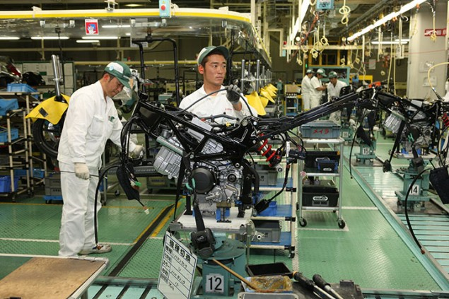 Update on the Status of the Motorcycle Factories in Japan Kumamoto Honda plant 635x423
