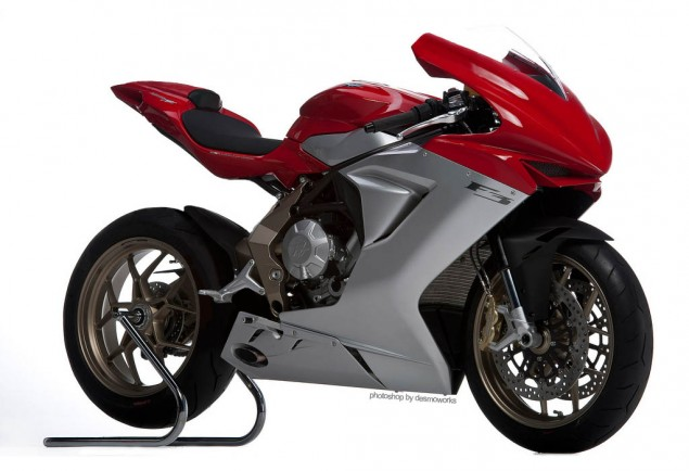 Product Lust: Photoshopped MV Agusta F3 MV Agusta F3 desmoworks track bike 635x434