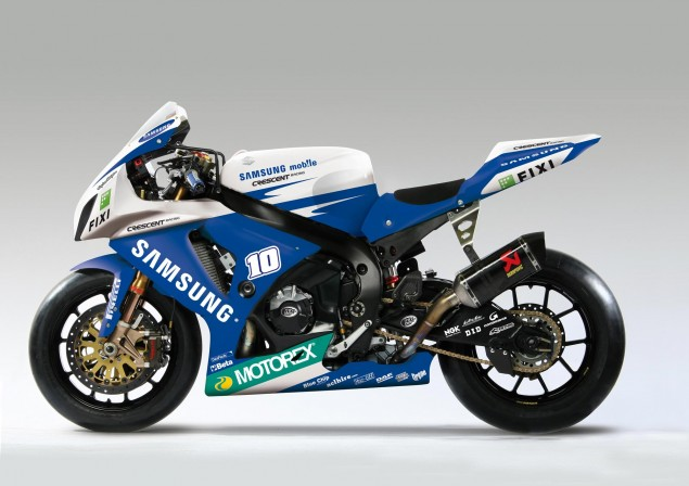 Hopkins to Wildcard in World Superbikes at Silverstone samsung crescent suzuki gsxr1000 635x448