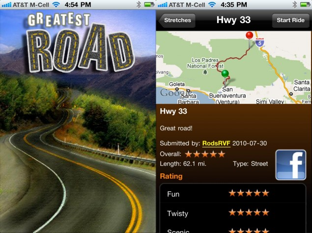 The Greatest Road on Your iPhone the greatest road motorcycle iphone application 635x476