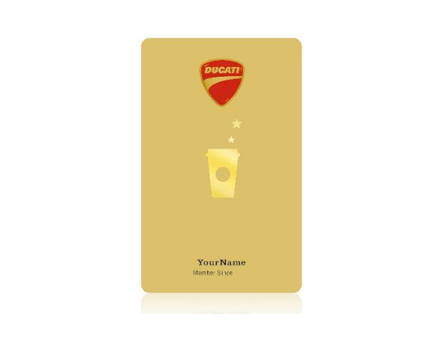 A&Rs April Fools Round Up Starbucks Ducati Gold Card thumb11